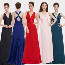 Ever Pretty Sexy V-Neck Long Party Bridesmaid Evening Formal Prom Dresses 09008