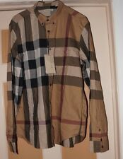 100% Authentic Burberry Brit GIANT EXPLODED CHECK COTTON SHIRT