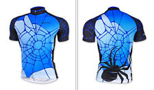 Blue Cycling outdoor sports Jersey Quick Dry Breathable Clothing Bike Size M-2XL