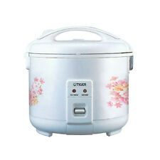 Tiger JNP-0550/0720/1000/1500/1800 Rice Cooker and Warmer, White - Made in Japan