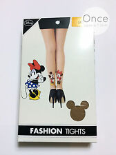 PRIMARK Ladies DISNEY CLASSIC MICKEY AND MINNIE MOUSE Fashion Tights Pantyhose