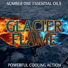 #1 GLACIER FLAME Essential Oil Blend   Muscles Back Neck Aches & Pains Hot Icy