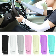 1pair Sports Outdoor Cycling Bike Arm Warmer Cuff Sleeve Cover UV Sun Protection