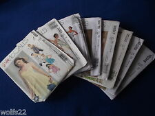 A McCall's ~ All Pattern are Size 12-18 (12,14,16,18) U-PICK ~ 25+ Listed ~ 6348