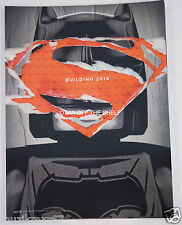 SDCC Comic Con 2015 Exclusive Superman vs Batman LEGO poster