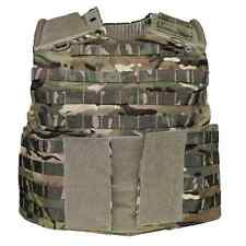 British army surplus body armour cover MTP osprey  molle assault vest