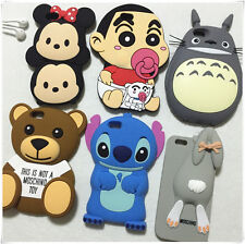 Multiple 3D Cute Cartoon Back Shell Cover Case for Apple iPhone 5 5S 6 i6 Plus