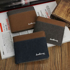 New Luxury Mens Boy Business Bifold Wallet Credit Card Holder Purse Pouch