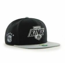 Los Angeles Kings NHL Black Silver Twins 47 Snapback Adjustable Authentic Hat