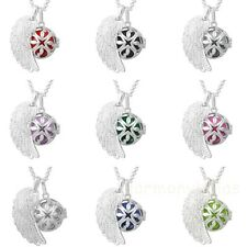 Harmony ball Sterling silver pendant chain necklace angel sounds musical pendant
