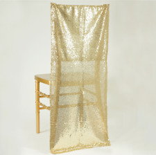 50 pcs SEQUIN CHAIR COVERS Square Tops Caps Slips Wedding Party Decorations SALE