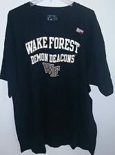 Wake Forest officially licensed Men's t-shirt plus size