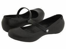 Women Crocs Alice Work Slip On Black 100% Authentic Brand New