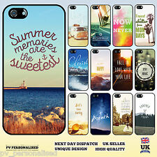 Famous Motivational Life Quote Fashion Hard Back Case for iPhone 4 5 5C 6