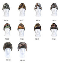Outdoor Sport Camouflage Hunting Cycling Winter Warm Hat Semi-brimmed Fleece Hat