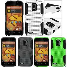 For ZTE Warp 4G (N9510) Astronoot Hybrid Snap on Protective Phone Case Cover