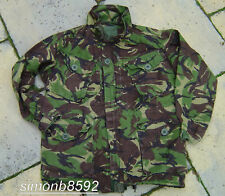 BRITISH ARMY SURPLUS ISSUE G2 SOLDIER 95 DPM RIPSTOP CAMO COMBAT SMOCK-PARA/SAS