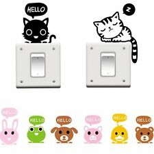 Light Switch Decor Decals Art Mural Switch Cover Wall Stickers Baby Nursery Room