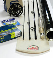 Winston Boron BIII LS Fly Rod Outfit with Ross Reel, Fly Line, and backing
