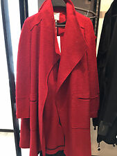 ZARA WOOL COAT BURGUNDY XS-XL  Ref. 1255/230