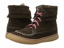 NIB - Livie & Luca Hopper boots in Mocha Suede - Toddler 8, 9, 10, 11