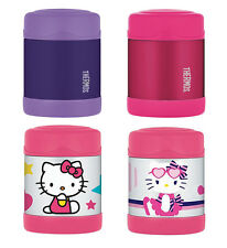 Thermos 10 Ounce Funtainer Food Jar, Blue/Purple/Pink/Hello Kitty