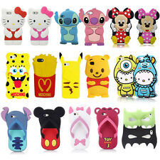 3D Cartoon Super Hero Soft Silicone Back Case Cover For Samsung Galaxy S2 I9100