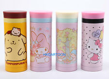 2015 JAPAN HELLO KITTY MY MELODY 340ML STAINLESS STEEL VACUUM FLASK WARM BOTTLE