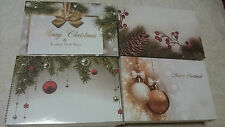 50 x Gift Tag/Cards Florist Boutique Xmas Theme Gift Place Cards Santa Reindeer