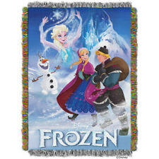 "NEW Disney Frozen Elsa Anna Olaf Tapestry Throw 40"" X 60"" Wall Hanging Blanket"