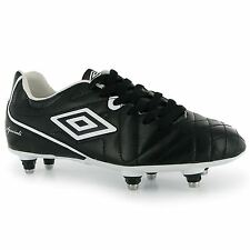 Umbro Speciali Club Soft Ground Mens Football Boots Black/White Soccer Footwear