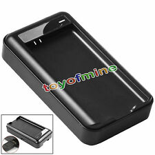 Wall Dock Cradle Battery Charger for Samsung Galaxy S5 i9600 G900V G900A Black