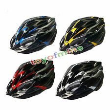 Road Bike Racing Bicycle Cycling Helmet Visor Adjustable Carbon White
