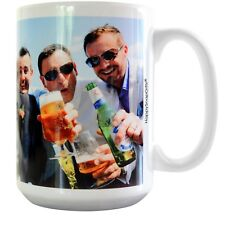 Happy Snap Gifts Personalised Mug With Your Photo and Text