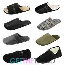 Mens Super Soft Comfy House Slippers Moccasins 6 7 8 9 10 11 Slipper Shoes Mules