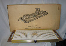 Vintage Georges Briard Hot Butler Automatic Electric Food Warmer Tray