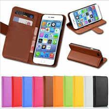 New PU Leather Wallet Purse Credit Card Case Cover Pouch For iPhone 5s 6 6 Plus