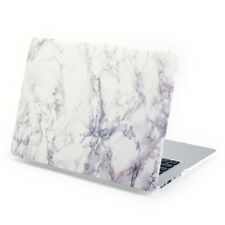 "Hard Case Print Frosted White Marble Cover for Macbook 13"" Air/13"" Pro/13 Retina"