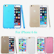 """New 0.3mm Slim Clear Crystal TPU Soft Invisible Case Cover For iPhone 6 6S 4.7"""""""