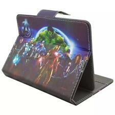 Popular Folio PU Leather Flip Stand Case Cover For 7 Inch Tablet PC The Avengers