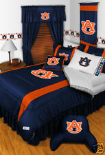 Auburn Tigers Bed in a Bag Twin Full Queen King Size Comforter Set