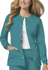 Scrubs Cherokee Luxe Warm-Up Jacket 1330 Teal FREE SHIPPING