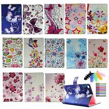 For apple ipad mini 4 2015 foldable pu leather case folios stand cover for girls