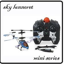 METAL 3-Channel 3CH RC Remote Control Mini Helicopter