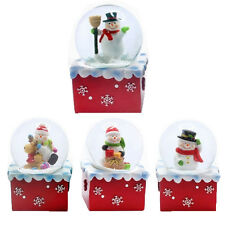 CHRISTMAS SNOW GLOBE SNOWMAN SNOWGLOBE XMAS GIFT DECORATION CUTE WATERBALL NEW
