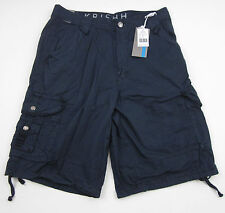 Mens Military Army Combat Cargo Shorts Pants Navy Blue Adult size32 NWT MSRP $69