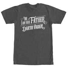 Star Wars No I am Your Father Mens Graphic T Shirt
