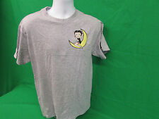 "Betty Boop ""Boop on the Moon""""  adult T-shirt Gray Sizes Medium or 3XL"
