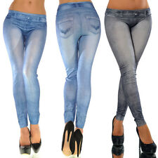 Sexy Women Blue Black Skinny Legging Cocktail Jeans Jegging Stretch Long Pant
