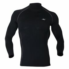 Under Layer Thermal Underwear for Men Compression Long Sleeve Shirt Napping NLM